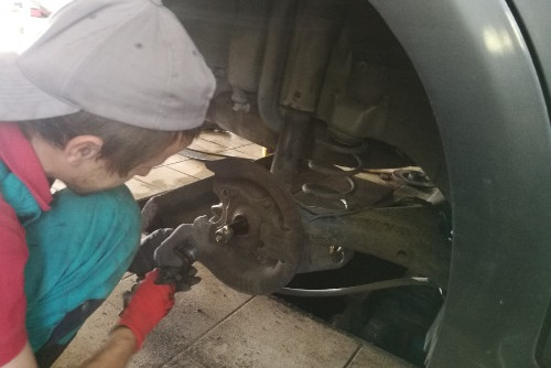 Kafelek mechanika samochodowa